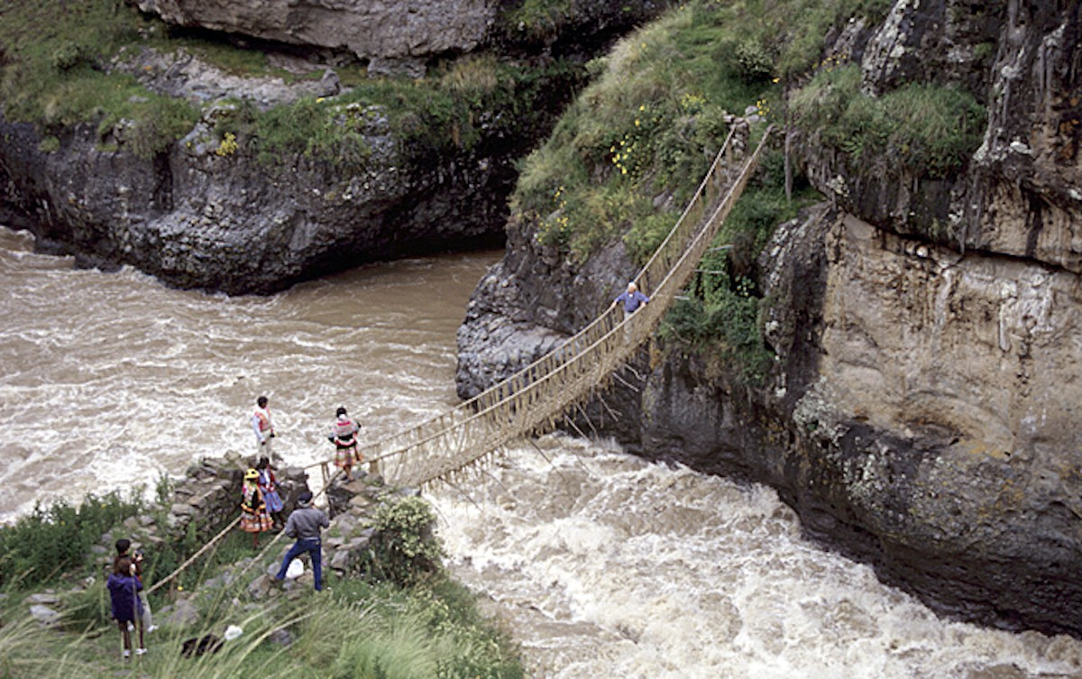 How To Build a Bridge Like the Incas